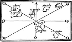 The Bordone Map 1547