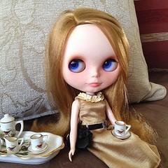 """""""Bom dia! Aceita um pouco de chá?"""" Desafio de maio - 3/10 - Inspiração: Londres"""