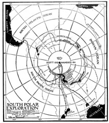 South Polar Exploration, 1921