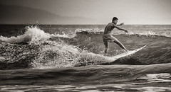 Explored! Surfer - South West Java (B&W) (F1etch) Tags: ocean travel sea bw white black water monochrome sport indonesia hotel surf break action surfer sony wave resort queen adventure mount software surfboard nik monochrom westjava alpha gunung indonesian halimun 70400mm a99