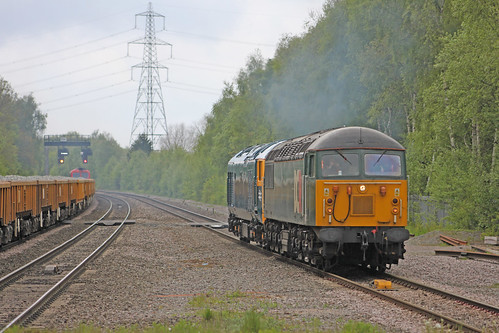 0Z50 56303 and D444 at Water Orton