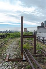 uh (CasualCapture) Tags: park nyc newyorkcity sculpture manhattan may caterpillar installation publicart highline phase3 westsiderailyards carolbove thirdsection finalsection highlineart highlinecommission