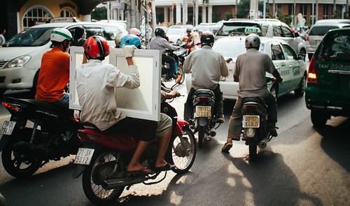 On the streets of Ho Chi Minh City
