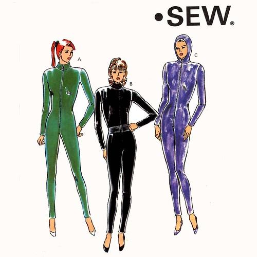 Kwik Sew 2108 Bodysuit Cat Suit Leotard Athletic A Photo On