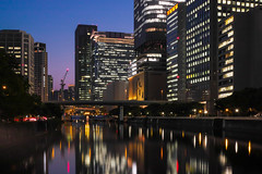 Blue moment in Osaka (shinichiro*) Tags: japan spring may osaka nightview crazyshin 2013 dp2m sigmadp2merrill gettyimagesjapan13q2 20130520 20130513sdi4424