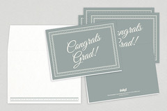 Classic Congratulations Graduate Greeting Cards (inkdphotos) Tags: colors border graduation graduate script congratulations grad cursive congrats greetingcards neutral