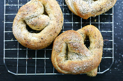 Soft Pretzels! (Beyana Magoon) Tags: bread vegan herbs salt homemade spices pretzels vegetarian bake bakedgoods softpretzels breadbaking