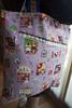 Saco Selvage MOR (owl_mania) Tags: quilt linen sewing quilting patchwork saco fabrics galão tecidos costura selvage galões tecidosjaponeses sacoselvage bolasdetons sacoempatchwork