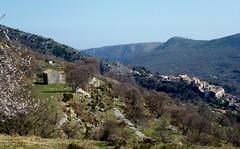 Coursegoules au printemps (b.four) Tags: village paese chapelle chapel coursegoules alpesmaritimes restanque terrace rubyphotographer mygearandme ruby5 ruby10