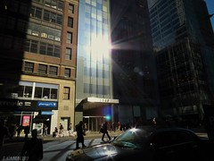shadows b nyc (tyfreak) Tags: life nyc sunset people sun building cars buildings amazing scenery shadows citylife epic