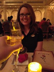 Opened and closed Magic Kingdom with dinner at Be Our Guest. Capped by fireworks while on Big Thunder. #winning (cmheisel) Tags: winning gdzlla
