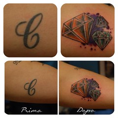 (LUCKY SIGNS TATTOO) Tags: roma tattoo tatuaggio romeitaly tatuaggi copertura coveruptattoo luckysignstattoo tattooroma