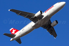 Swiss International Air Lines Airbus A320-214 Copenhagen - Kastrup (CPH / EKCH) (Morten Hansen Aviation photography) Tags: plane copenhagen airplane denmark aircraft air tail wing engine cockpit gear 321 off airline dk airbus take boeing cph ge departure 777 kopenhagen 747 318 airliner kbenhavn lufthavn 767 737 320 kastrup 727 fuselage 319 cfm ekch