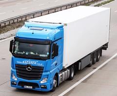 Mercedes Actros new look WWL 41853 Natanek (gylesnikki) Tags: blue truck artic mp4 natanek