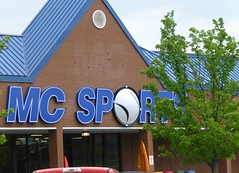MC Sports in Wooster, Ohio (Fan of Retail) Tags: road ohio sports retail mall shopping center mc burbank stores wooster milltown 2013