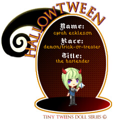 Cyrah Tiny Tween Doll (Hallowtween RP) Tags: doll tiny tween cy gamesmaster cyrah hallowtween ecklesen cyrahecklesen