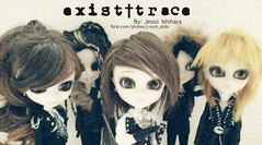 existtrace (J-Rock dolls) Tags: music japan japanese doll dolls ooak customized pullip custom jrock pullips vanguard  existtrace