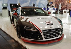 Audi R8 - Essen Motorshow (Andy_BB (On Vacation)) Tags: auto car essen automobile version voiture racing coche vehicle  macchina coches bagnole motorshow essenmotorshow automvil    autoaudir8