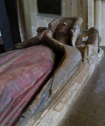 Christ Church Cathedral - Lady Elizabeth Montacute, mid 14C
