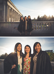 more grad photos (dohman91) Tags: sunset college graduation uc goldenhour ucberkeley graduating universitylibrary