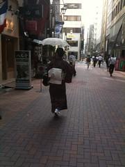 Obviamente muy común ver esta imagen por las calles de Japón