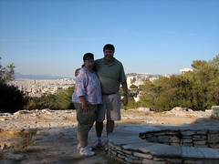 164 - Scott & Jaime (Scott Shetrone) Tags: family people other events places athens parthenon greece monuments acropolis 5th anniversaries filopapposhill jaimeshetrone scottshetrone