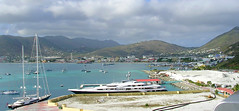 Philipsburg from Ship (1) (roger4336) Tags: cruise sea netherlands dutch port harbor boat ship yacht stmartin caribbean stmaarten sintmaarten philipsburg attessa greatbay 2013 attessaiv captainhodgepier capthodgepier