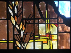 Grains of Wheat (lars hammar) Tags: arizona church window stainedglass lutheran mesa stainedglasswindow elca loveofchristlutheranchurch