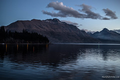 Lake Mountains.jpg (Burning Torch Productions) Tags: sunset newzealand lake southisland queenstown