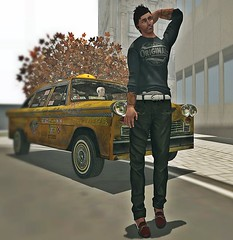 alon in city featuring kal rau (Alon Alphaville) Tags: male men fashion sl secondlife kal rau fashionbydoublea alonalphaville