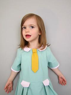 Tinny with tie
