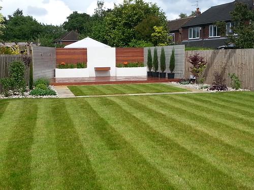 Landscaping Wilmslow Modern Garden Image 9