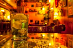 Algo refrescante (Jose Casielles) Tags: color luces pub verano bebida limon yecla gintonic refresco josecasiellesfotgrafo