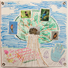 Connie Cai, a ninth grade student at Galileo High School in CA (International Fiber Collaborative, Inc.) Tags: christmas family school trees people mountain newyork green art home water nova animal glitter kids trash stars religious washington community war paint peace kentucky space flag unitedstatesofamerica group cancer conservation diversity astronaut felt save aliens nasa clean explore health environment leader twintowers express olympic agriculture racism elementary planting abuse humans equality global facebook discover intolerance saturnvrocket presidentobama internationalfibercollaborative thedreamrocket