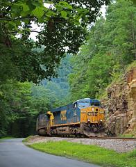 Verdant (ahall4370) Tags: trains railroads csx crr clinchfield
