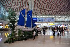 Sultan Hasanuddin Airport (Ardy Hadinata Kurniawan) Tags: canon indonesia airport interior 1585 40d