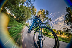 (mblsha) Tags: bike action icm peleng mblsha magicarm intentionalcameramovement