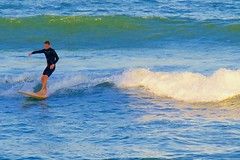Jan 22, 2015 - afternoon at the beach - 05 (Ed Yourdon) Tags: ocean beach afternoon florida surfing surfboard indialantic
