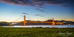 Just Missed (Steven Lamar) Tags: sanfrancisco canon landscape bay goldengatebridge sanfranciscobay cablebridge famousbridges missedsunset canon7d pnwphotographer stevenlamar lightfxstudio