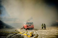DSC_6987 (stefpix) Tags: winter ice fire freeze williamsburg firefighter fdny