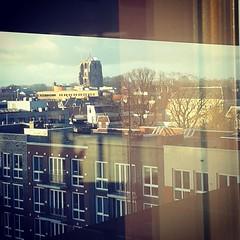 View  @  fries museum #uitzicht #view  #Leeuwarden #Friesland #Frysln #skyline #museum #fries #friesmuseum #stad #city #instagram (MarjanR) Tags: city skyline museum square view fries squareformat uitzicht friesland stad leeuwarden frysln friesmuseum iphoneography instagram instagramapp xproii uploaded:by=instagram