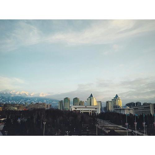 #Almaty #instashot #nocrop #weather #vscocam