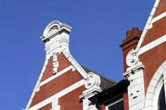 Blue Sky 5 (S Cansfield) Tags: old blue roof sky architecture buildings lumix panasonic local hull kingstonuponhull 45150mm gx1