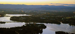 Telstra Tower Dawn View 0018 (BrianRope) Tags: light sunrise dawn australia canberra act telstratower