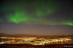 Blessed Tromsø (joaomatts) Tags: city cidade luz norway night lights norge nikon nacht norwegen aurora noite noruega 1855mm northern borealis boreal tromso tromsø lichts d5100