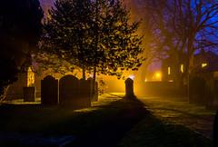 St Andrew's Church, Corbridge, Northumberland (mandyhedley) Tags: mist church pub northumberland churchyard northeast gravestones corbridge standrewschurch smallvillage