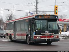 Toronto Transit Commission #7453 (vb5215's Transportation Gallery) Tags: toronto 2004 ttc transit orion commission vii
