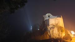 Lovech Fortress (alexx4444) Tags: night long exposure view cross samsung bulgaria fortress stena krepost lovech krust varosha nx2000 bulgariq lovetsch lovetsh krepostna
