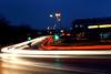 Streetlights (Stephie1305) Tags: city cars night speed lights streetlights rush pfalz landau