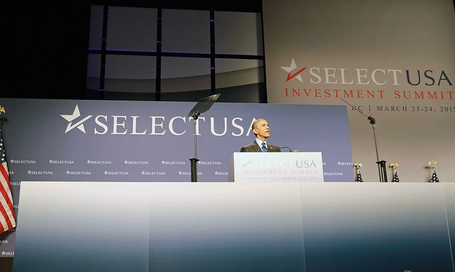 President OBAMA Addresses the 2015 SelectUSA Investment Summit